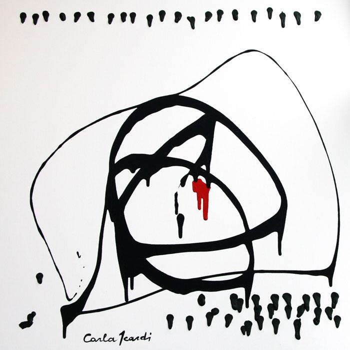 Incidenti sul lavoro - Disegno 80x80 (2009)