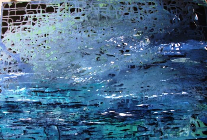 Acqua - acrilico su tavola 40x60 (2017)